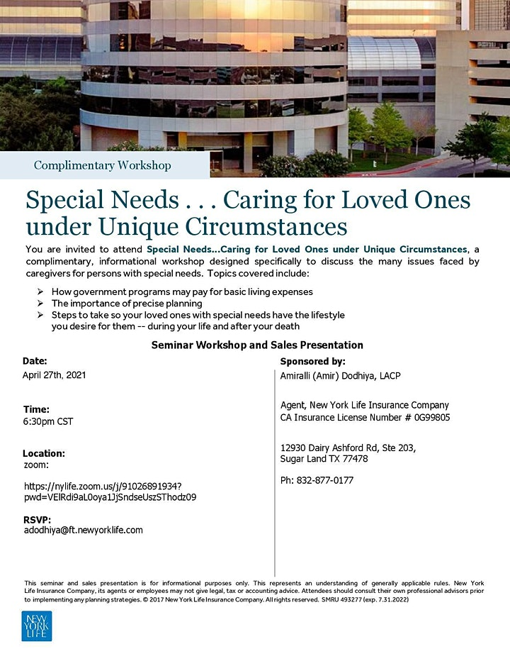 IACCGH webinar: Special Needs: Caring for Loved ones image
