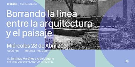 → Borrando la línea entre la arquitectura y el paisaje entradas