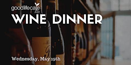Wine Dinner tickets