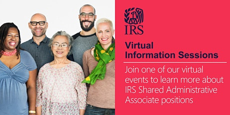 IRS Virtual Information Session about Administrative Associate positions tickets