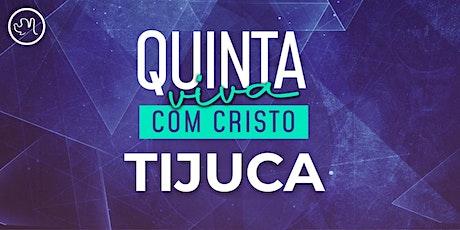 Quinta Viva com Cristo 15 abril | Tijuca ingressos