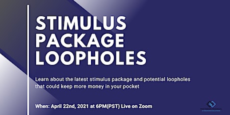 Stimulus Package Loopholes tickets