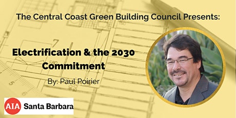 Green Building Speaker Series: Electrification & the 2030 Commitment tickets