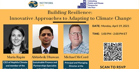 Building Resilience: Innovative Approaches to Adapting to Climate Change tickets