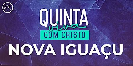Quinta Viva com Cristo 15 abril| Nova Iguaçu ingressos