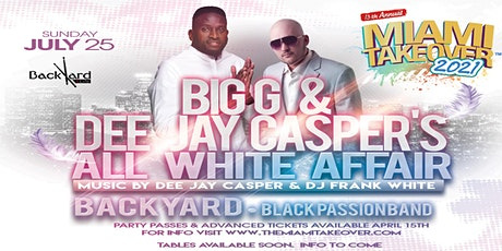 MTO2021: Big G & Dee Jay Casper's All-White Affair (Single Event Only) tickets