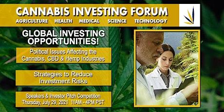 Cannabis Investing Forum - Webinar tickets