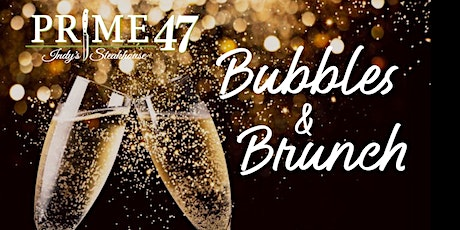 Prime 47 - Bubbles & Brunch in the evening 5 Course Dinner Party tickets