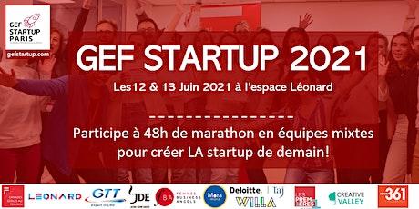 GEF Startup 2021 tickets
