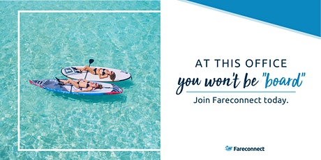 LIVE WEBINAR: Become an Independent Travel Agent with Fareconnect tickets