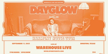 DAYGLOW: THE HARMONY HOUSE TOUR 2021 - with ARLIE tickets