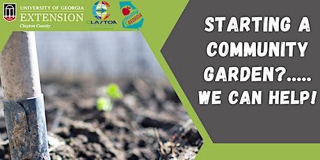 Starting A Community Garden? We Can Help! tickets
