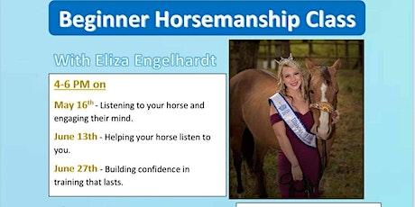 Beginner Horsemanship Class tickets