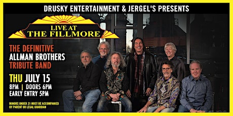 Live at the Fillmore - A Tribute to The Allman Brothers tickets