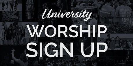 University United Methodist Worship Sign Up tickets