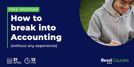 How to break into Accounting (without any experience) tickets