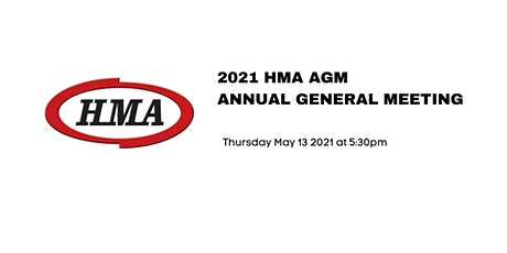 2021 HMA AGM - Annual General Meeting tickets