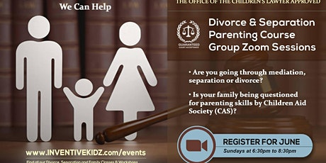 The Office Children's Lawyer-Divorce & Separation Parenting Course(Sunday) tickets