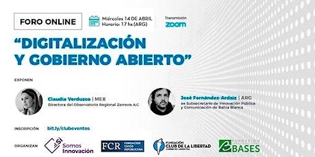 CLUB DE LIBERTAD - DIGITALIZACIÓN Y GOBIERNO ABIERTO entradas