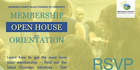 Membership Open House & Orientation tickets