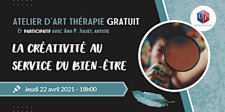 La créativité au service du bien-être - Atelier participatif d'art thérapie billets