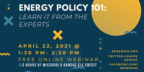 Energy Policy 101: Learn it from the Experts! tickets