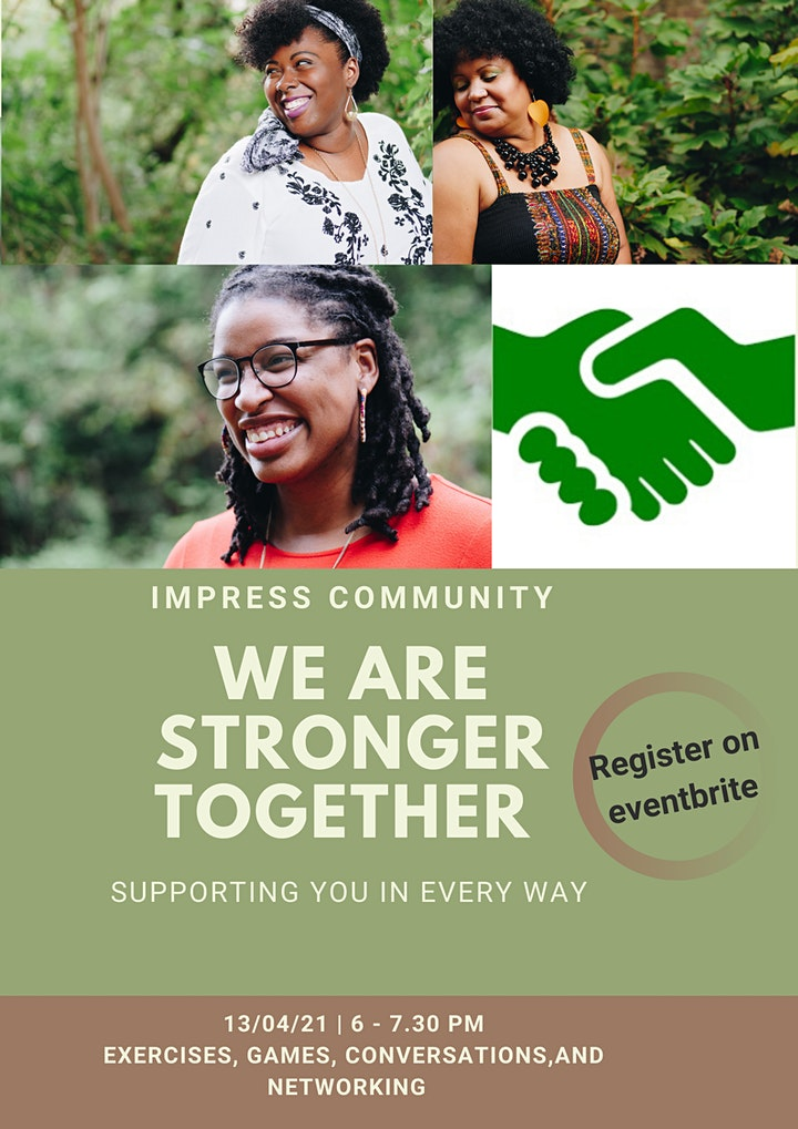 We are Stronger Together - A connected Community image