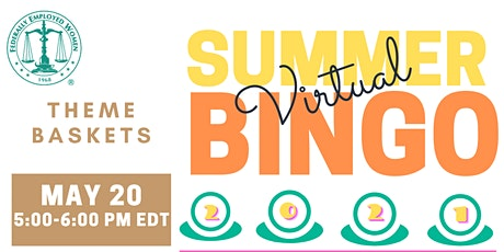 Summer Virtual Bingo tickets