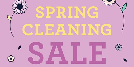 Throwback Sessions at Xtina's Shop: Spring Clean Sale in a Super Cool Spot tickets