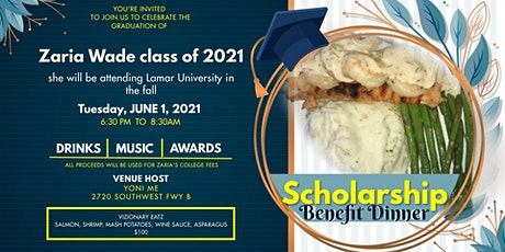 Scholarship Benefit Dinner For Zaria tickets