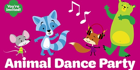 FREE Virtual Animal Dance Parties with Girl Scouts of the Colonial Coast tickets
