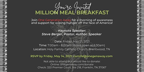 Million Meal Spring Breakfast Fundraiser tickets