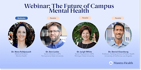 The Future of Campus Mental Health tickets
