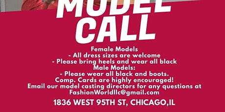 Chicago Summer Fashion Fest 2021  Casting Call tickets