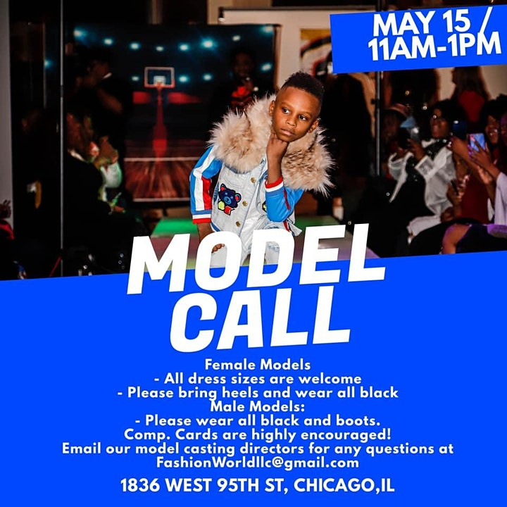 Chicago Summer Fashion Fest 2021  Casting Call image
