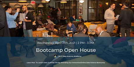 Bootcamp Open House | NYC Data Science Academy biglietti