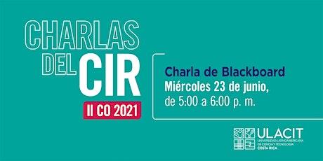 Charla de Blackboard Tickets