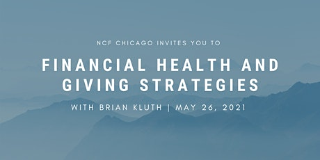 Financial Health and Giving Strategies with Brian Kluth tickets