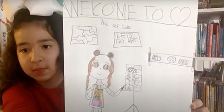 Studio Institute: TAP Live Drawing Class for K-2nd Grade (4/24 10am EST) tickets