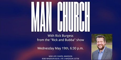 Man Church with Rick Burgess tickets