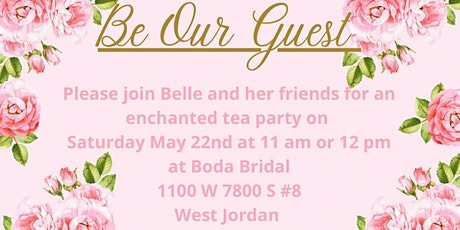 Be Our Guest Princess Tea Party tickets