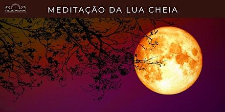 Meditação da Lua Cheia bilhetes