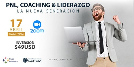 PNL, Coaching & Liderazgo Nueva Generación tickets