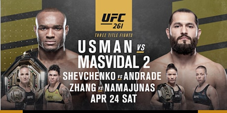 UFC 261 Social Mixer tickets