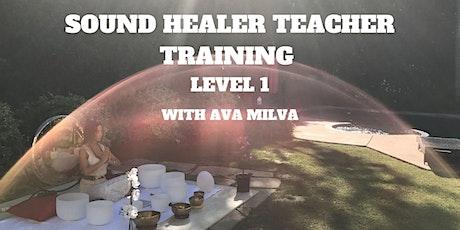 Sound Healer Teacher Training Level 1 tickets