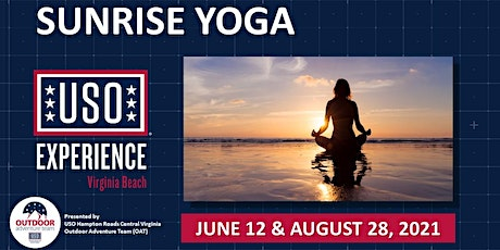 USO Experience | Virginia Beach Sunrise Yoga tickets