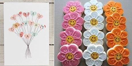 Mother's Day Card Making & Cookie Decorating | Brenda Dwyer, instructor tickets