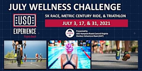 "USO Experience | Virginia Beach ""July Wellness Challenge 5K"" tickets"