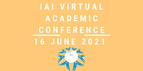 International VIRTUAL Academic Conference  June 16,  2021 tickets
