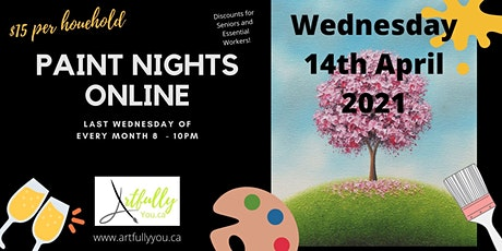 Wednesday Paint Night with Artfully You tickets